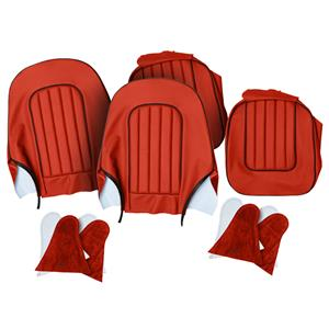 Buy SEAT COVER SET,front-RED/BLACK Online