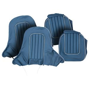 Buy SEAT COVER SET,front-BLUE/WHITE Online