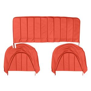 Buy REAR SEAT COVERS,set-RED/RED Online