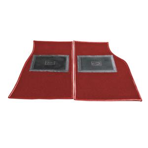 Buy FOOTWELL CARPET MATS-RED Online