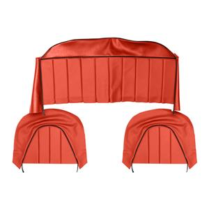 Buy REAR SEAT COVERS,set-RED/BLACK Online