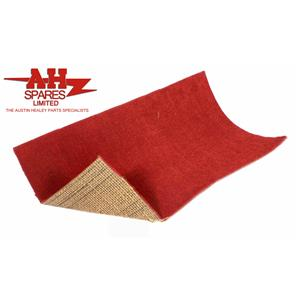 Buy CARPET MATERIAL(1.5m)Red/mtre Online