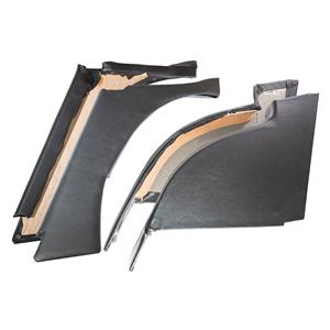 Buy REAR QUARTER PANELS-BLACK-set of 4 Online