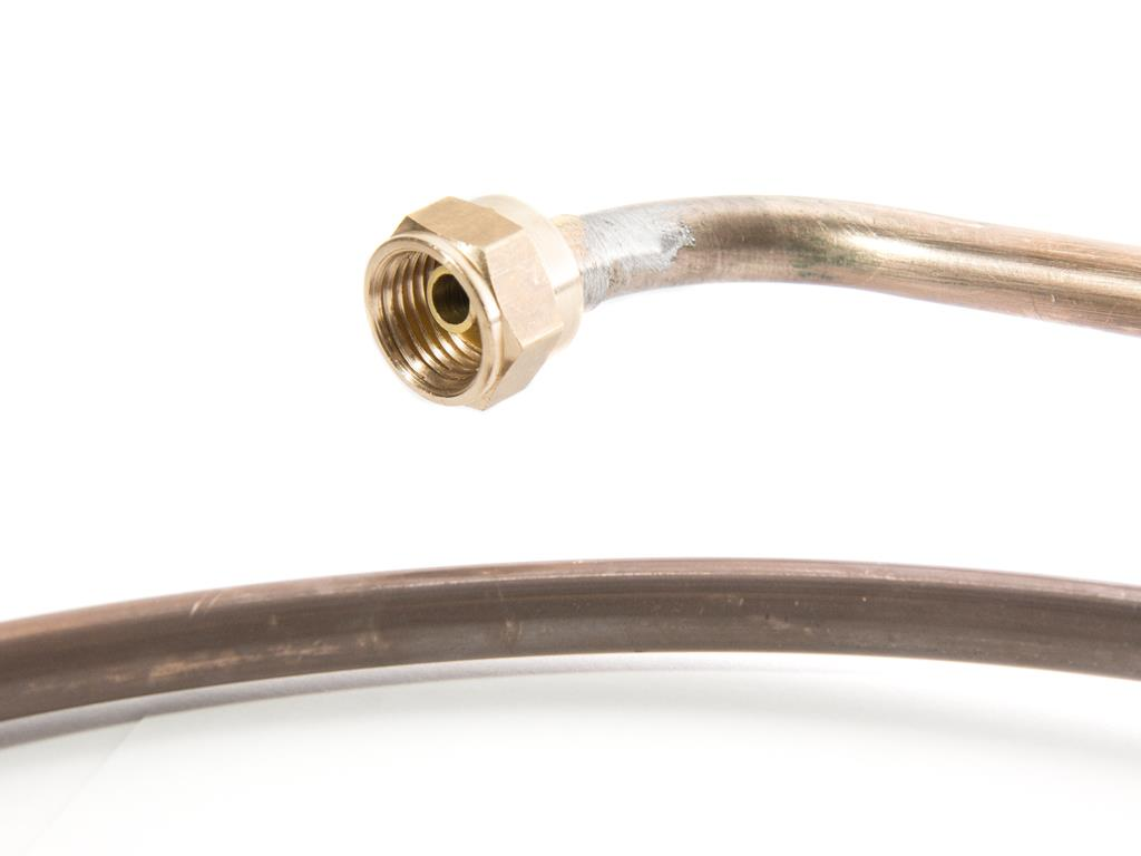 Copper fuel pipes