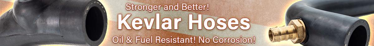 Austin Healey Kevlar heater hoses