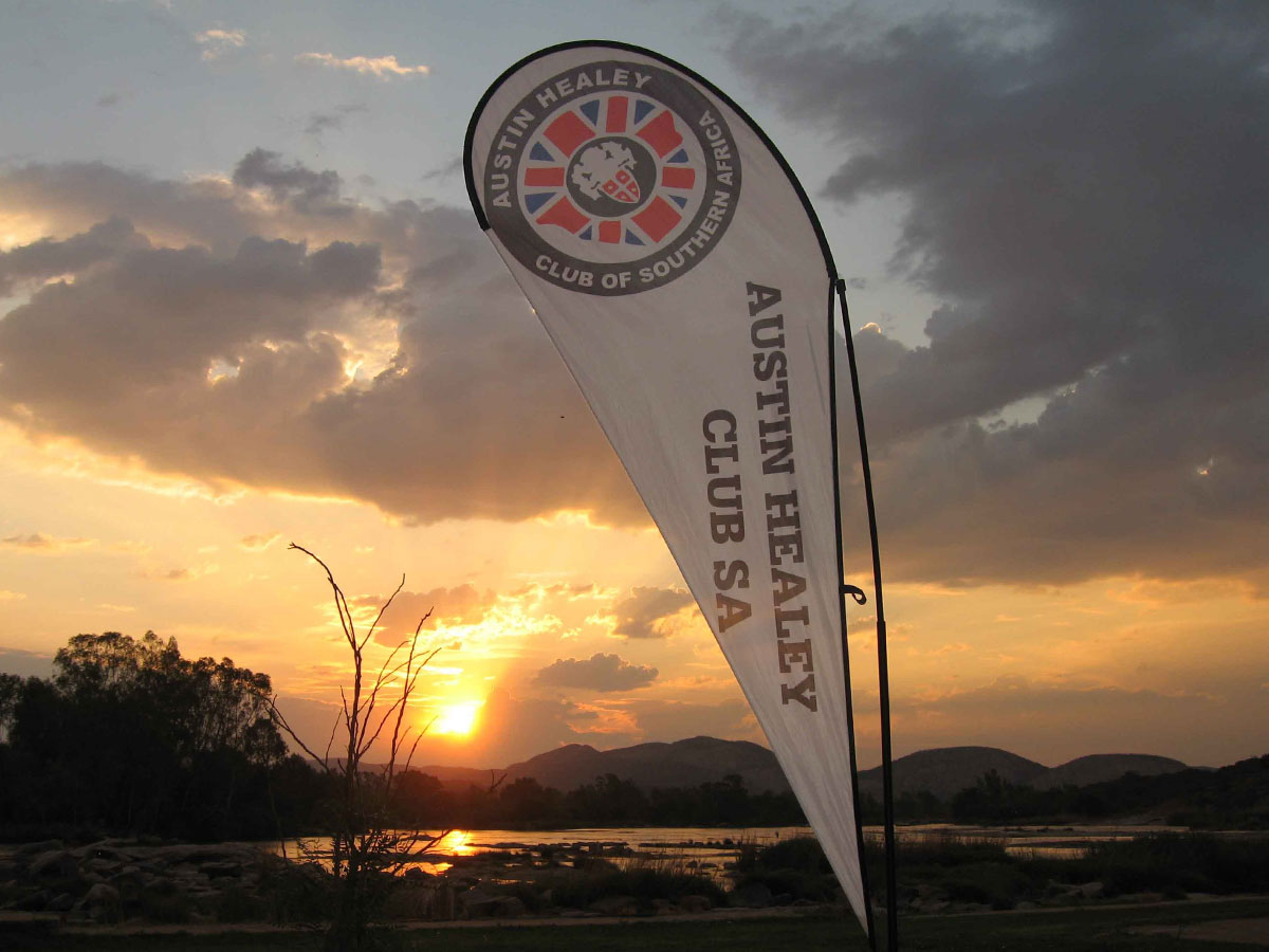 Austin Healey National Tour Garden Route 2020 event.
