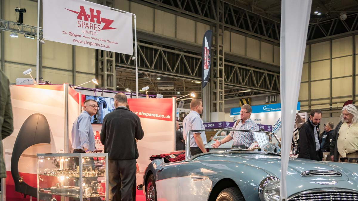 A H Spares at the Classic Motor Show 2018