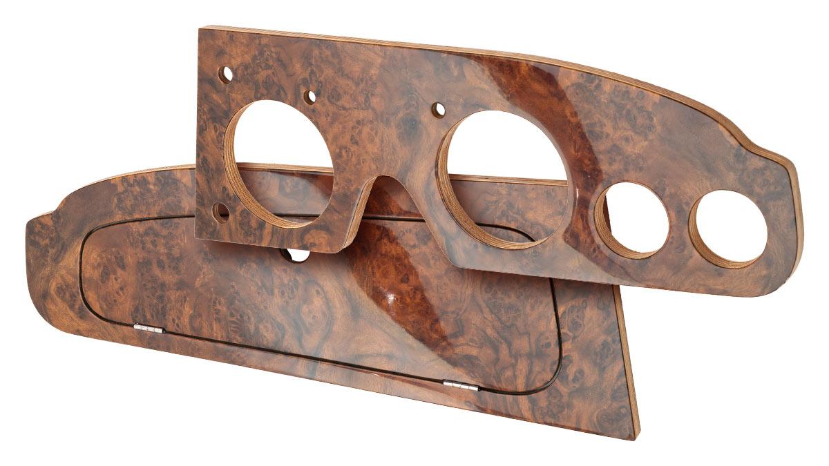 Austin Healey walnut glove box | Right Hand Drive.