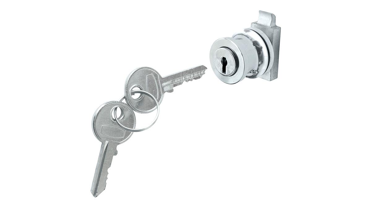Austin Healey glove box lock and keys.