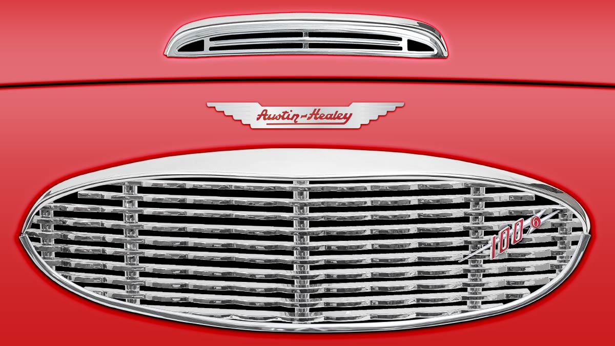 Austin Healey 100/6 front grille