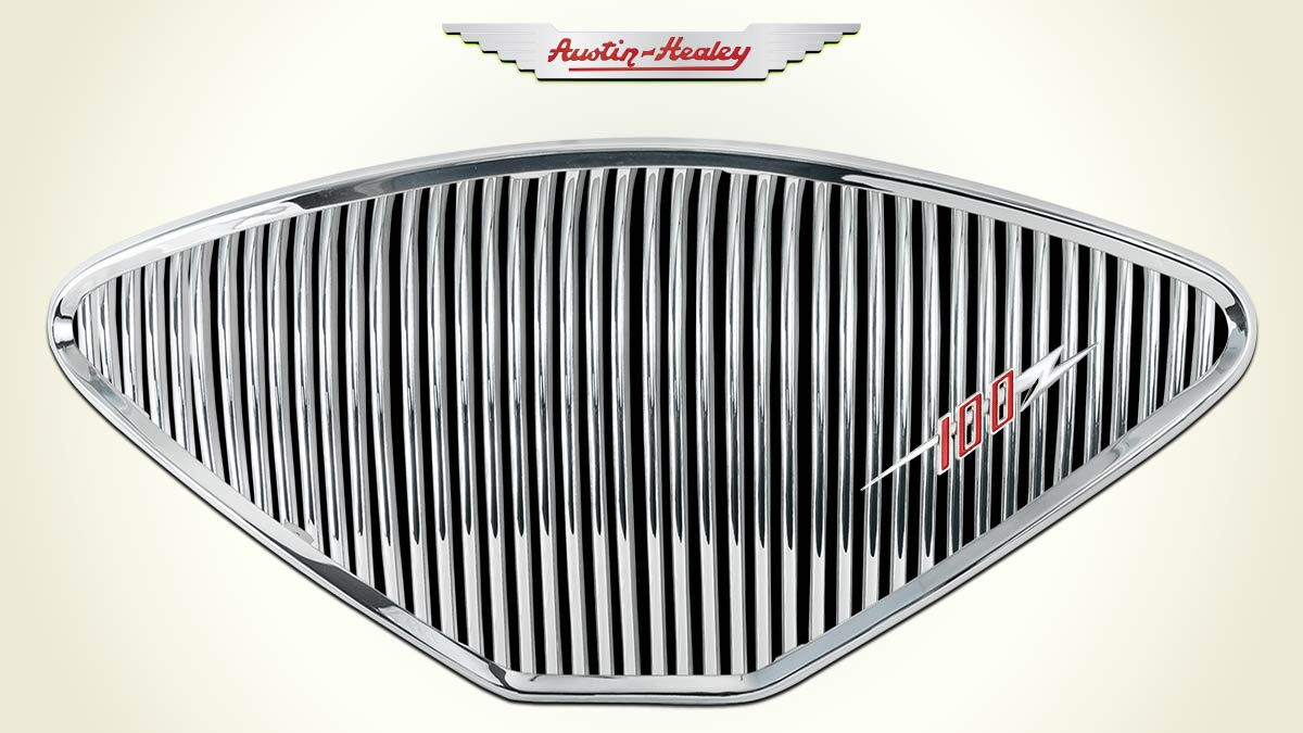 Austin Healey 100 front grille
