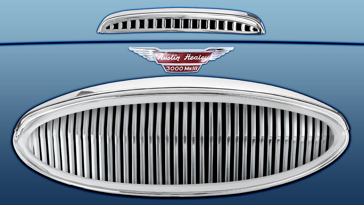Austin Healey 3000 front grille