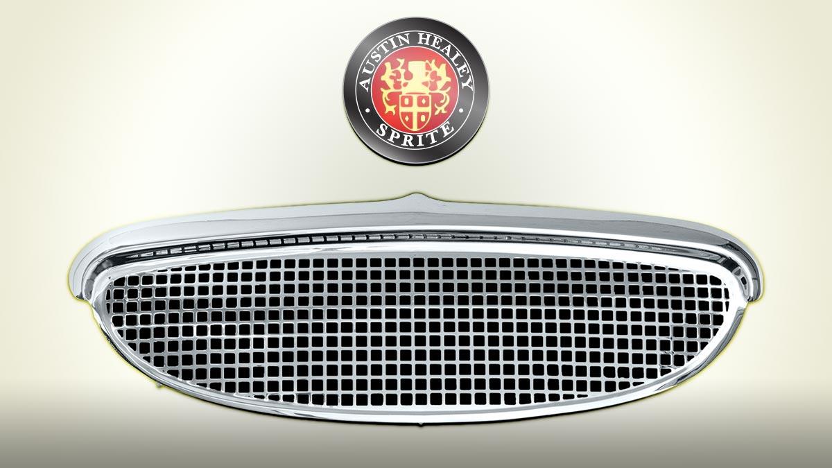 Austin Healey Sprite MK1 Frogeye Front Grille