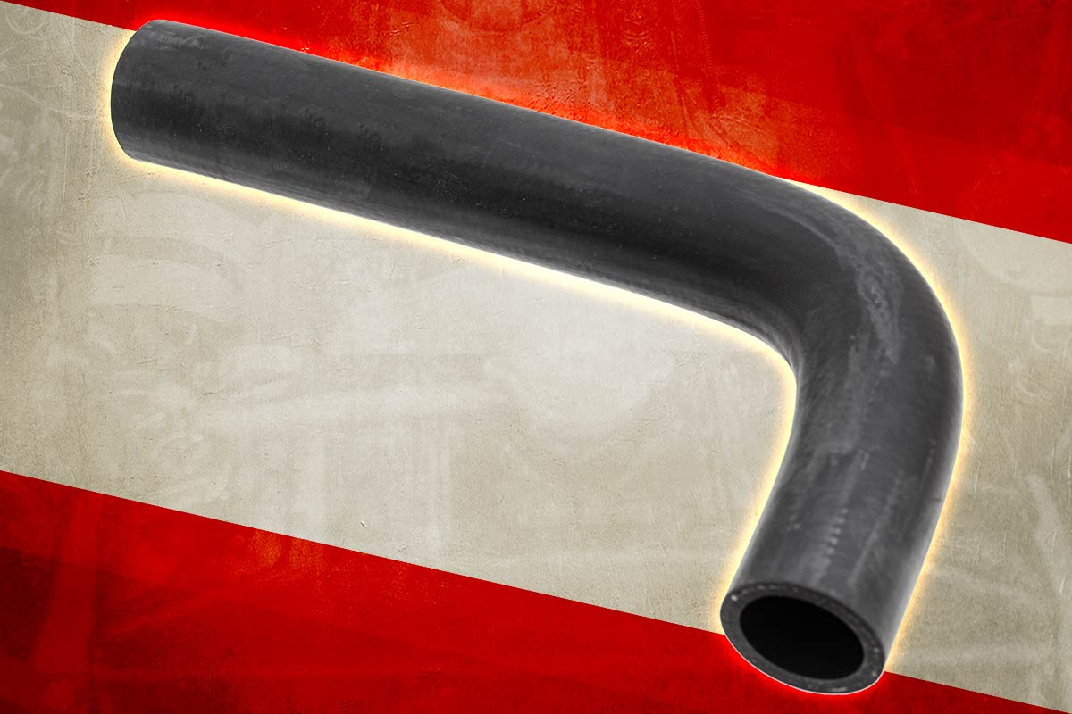 Austin Healey Bottom Hose - Kevlar