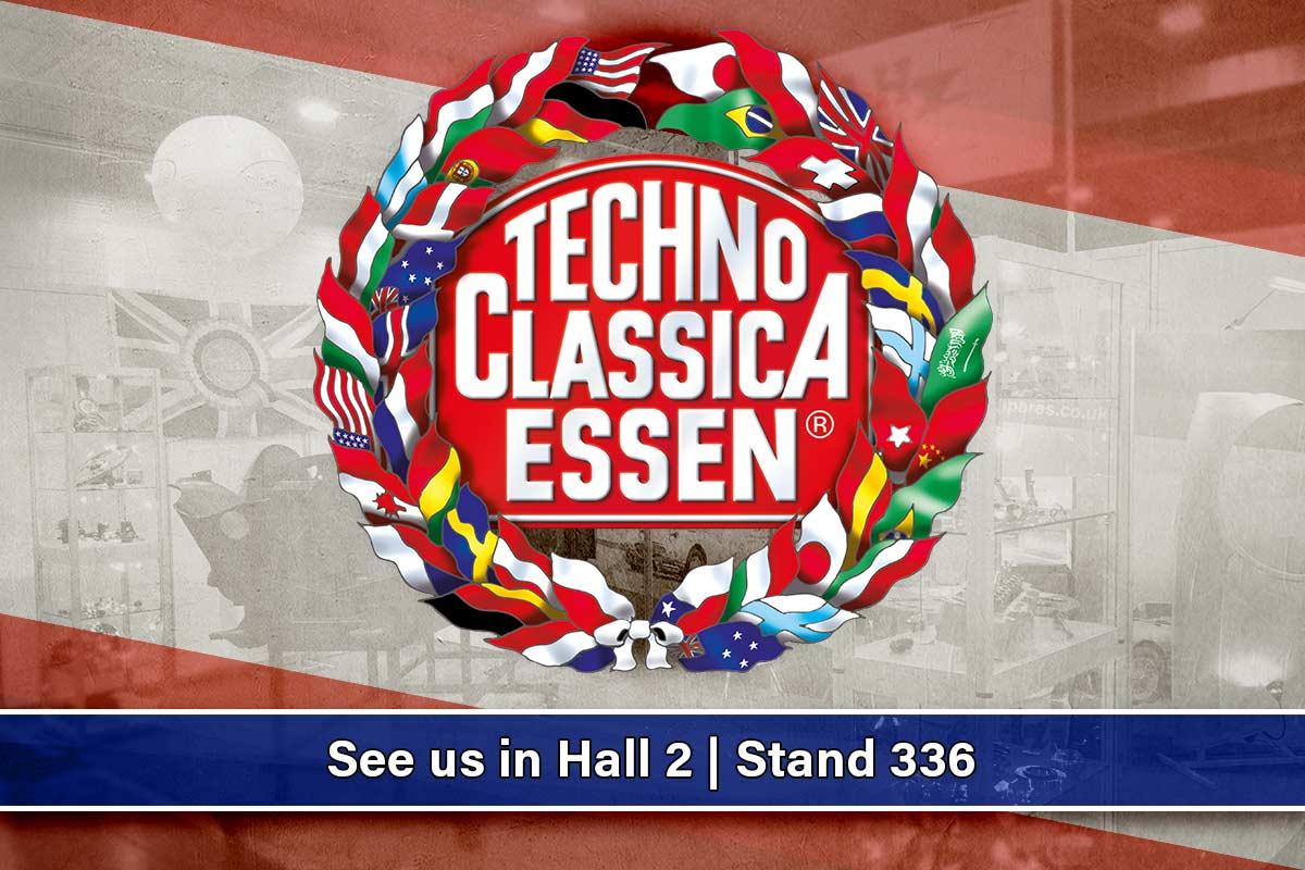 Techno Classica Essen | See us in Hall 2 Stand 336