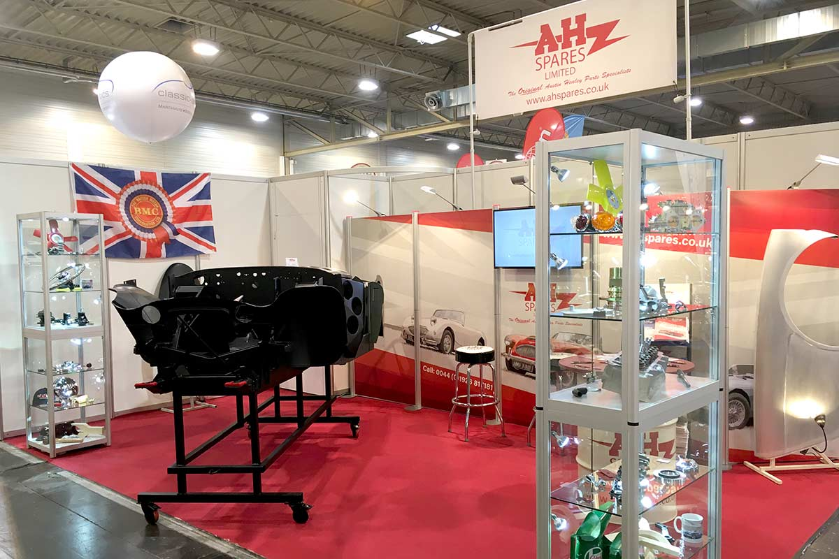 A H Spares at the Techno Classica Essen | See us in Hall 2 Stand 336